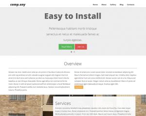 Website Design Work Sample